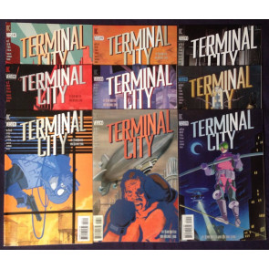 Terminal City (1996-1997) #1 2 3 4 5 6 7 8 9 two complete sets Dean Motter