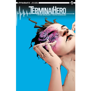 TERMINAL HERO (2014) #1 VF+ - VF/NM PETER MILLIGAN JAE LEE COVER DYNAMITE