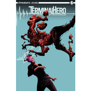 TERMINAL HERO (2014) #6 VF+ - VF/NM PETER MILLIGAN JAE LEE COVER DYNAMITE