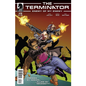 TERMINATOR: ENEMY OF MY ENEMY #5 VF/NM DARK HORSE COMICS