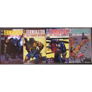 TERMINATOR ENEMY WITHIN COMPLETE 4 ISSUE SET BISLEY