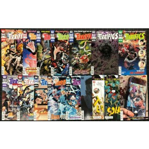 Terrifics (2018) #1-21 VF/NM near complete set 16 issue lot missing 2 3 7 10 12