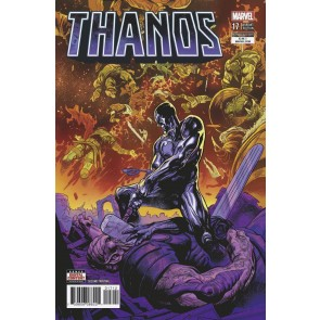 Thanos (2016) #17 VF/NM Second Printing Variant Cover Cosmic