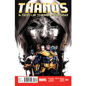 THANOS: A GOD UP THERE LISTENING (2014) #'s 1, 2, 3, 4 COMPLETE VF/NM SET