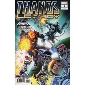 Thanos Legacy (2018) #1 VF/NM Cosmic Ghost Rider Vs. Variant Cover