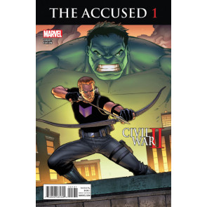 The Accused (2016) #1 VF/NM Ron Lim Hawkeye Hulk Variant Cover