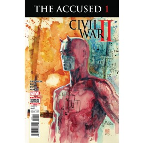 The Accused (2016) #1 VF/NM David Mack Daredevil Cover