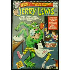 THE ADVENTURES OF JERRY LEWIS #100 FN+
