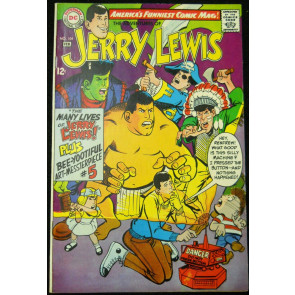 THE ADVENTURES OF JERRY LEWIS #104 VF-