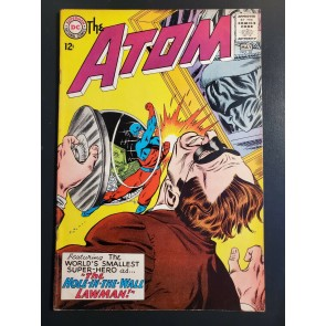 The Atom #18 (1965) F (6.0) The Hole-In-The-Wall Lawman |