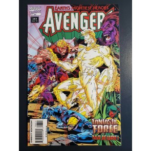 """The Avengers #383 (1995) NM (9.4) Fantastic Force """"Shattered Vows""""  """