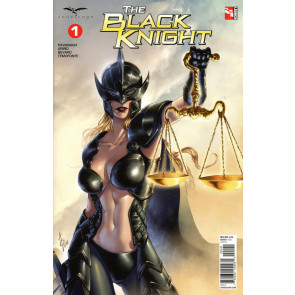The Black Knight (2018) #1 VF/NM Alan Quah Variant Cover D Zenescope