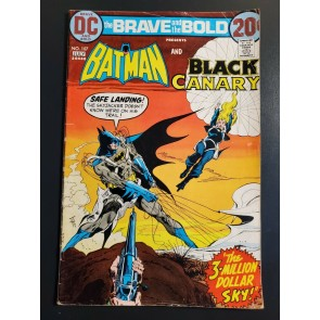 The BRAVE And The BOLD #107 (1973) VG- 3.5 Batman And The Black Canary Bronze |