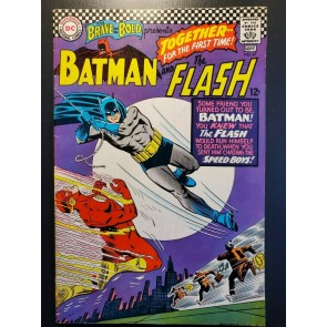 The Brave and The Bold #67 (1966) F/VF (7.0) Batman & Flash Infantino Art |