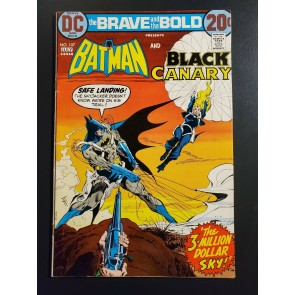 The BRAVE And The BOLD #107 (1973) F/VF 7.0 Batman And The Black Canary Bronze |