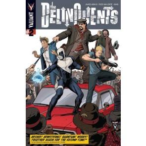 THE DELIQUENTS (2014) #2 VF+ COVER A VALIANT COMICS
