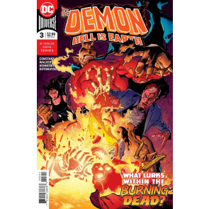 The Demon: Hell Is Earth (2017) #'s 1 3 4 5 6 Near Complete VF/NM Set