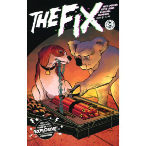 The Fix (2016) #9 VF/NM April Fool's Day Variant Cover Image Comics