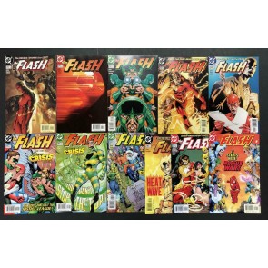 The Flash (1987) #'s 210-220 VF/NM Set Michael Turner Howard Porter Geoff Johns