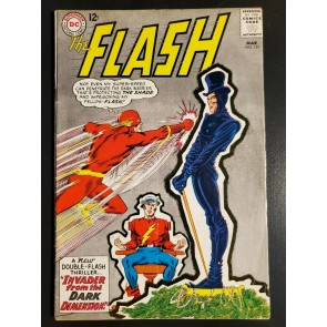 The Flash #151 (1966) VG (4.0) Engagement of Barry Allen and Iris West vs Shade|