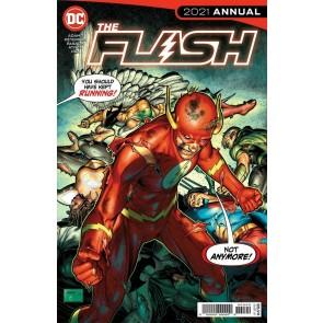 The Flash 2021 Annual VF/NM Brandon Peterson Cover