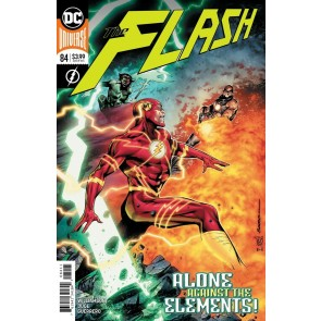 The Flash (2016) #84 VF/NM Rafa Sandoval Cover YOTV