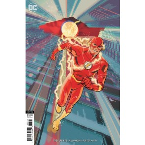 The Flash (2016) #73 VF/NM Evan Shaner Variant Cover DC Universe