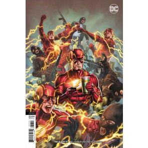 The Flash (2016) #57 VF/NM Mico Suayan Variant Cover DC Universe