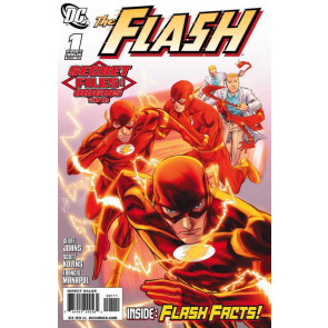 The Flash: Secret Files and Origins (2010) #1 VF/NM (9.0) Geoff Johns