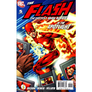 THE FLASH: THE FASTEST MAN ALIVE (2006) #5 VF/NM