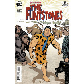 The Flintstones (2016) #12 VF/NM Yanick Paquette  Cover Hanna Barbera