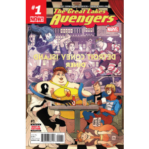 The Great Lakes Avengers (2016) #'s 1 2 4 5 6 VF/NM Near Complete Set