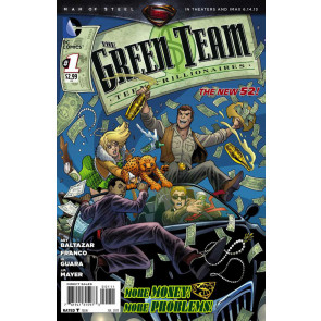 THE GREEN TEAM: TEEN TRILLIONAIRES (2013) #1 VF/NM THE NEW 52!