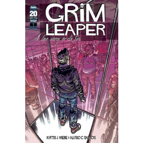 THE GRIM LEAPER #1 NM IMAGE COMICS 1ST PRINTING