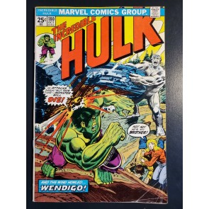 THE INCREDIBLE HULK #180 VG+ 4.5 1ST CAMEO APPEARANCE WOLVERINE MVS INTACT  