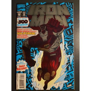 The Invincible Iron Man #300 (1994) VF+ (8.5) War Machine Anniversary issue |
