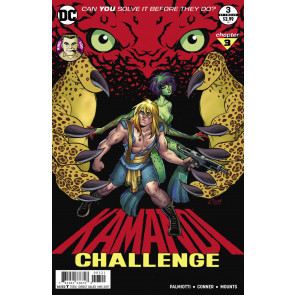 The Kamandi Challenge (2017) #3 of 12 VF/NM Amanda Conner Cover
