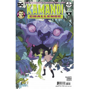 The Kamandi Challenge (2017) #3 of 12 VF/NM Ben Caldwell Cover