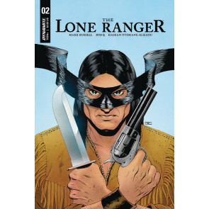 The Lone Ranger (2018) #2 VF/NM John Cassaday Tonto Cover Dynamite