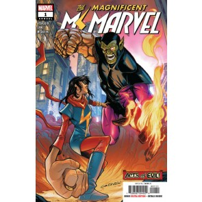 The Magnificent Ms. Marvel Annual (2019) #1 VF/NM Stefano Caselli Cover
