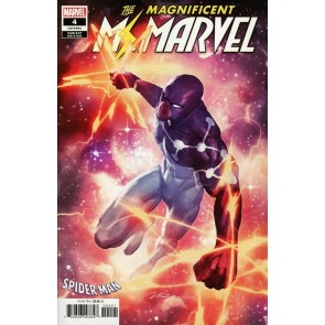 The Magnificent Ms. Marvel (2019) #4 (#61) VF/NM Spider Suit Variant Cover
