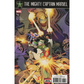 The Mighty Captain Marvel (2016) #6 VF/NM