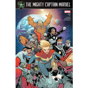 The Mighty Captain Marvel (2016) #7 VF/NM