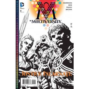 THE MULTIVERSITY (2015) #2 VF/NM BLACK & WHITE VARIANT COVER GRANT MORRISON