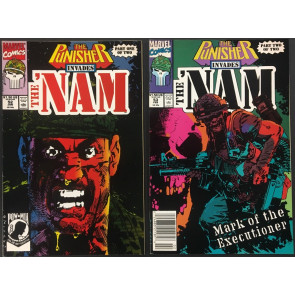 The Nam (1986) #52 & #53 VF (8.0) two part set Punisher storyline