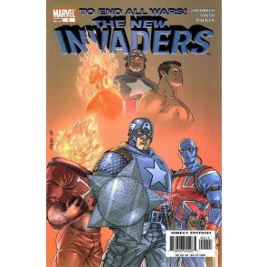 The New Invaders (204) #'s 0 1 2 3 4 5 6 7 9 Near Complete VF/NM Set Avengers