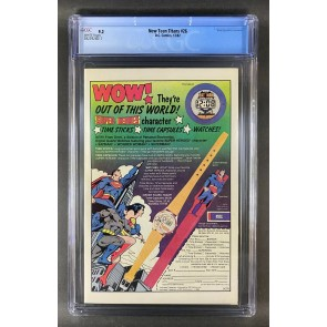 The New Teen Titans (1980) #26 9.2 & #27 9.4 CGC Graded White Pages George Perez
