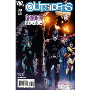 THE OUTSIDERS (2009) #33 VF/NM