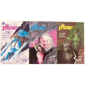 THE PRISONER #'s 1, 2 & 3 NM/NM- DEAN MOTTER 1988