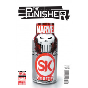 THE PUNISHER (2014) #11 VF+ VARIANT COVER